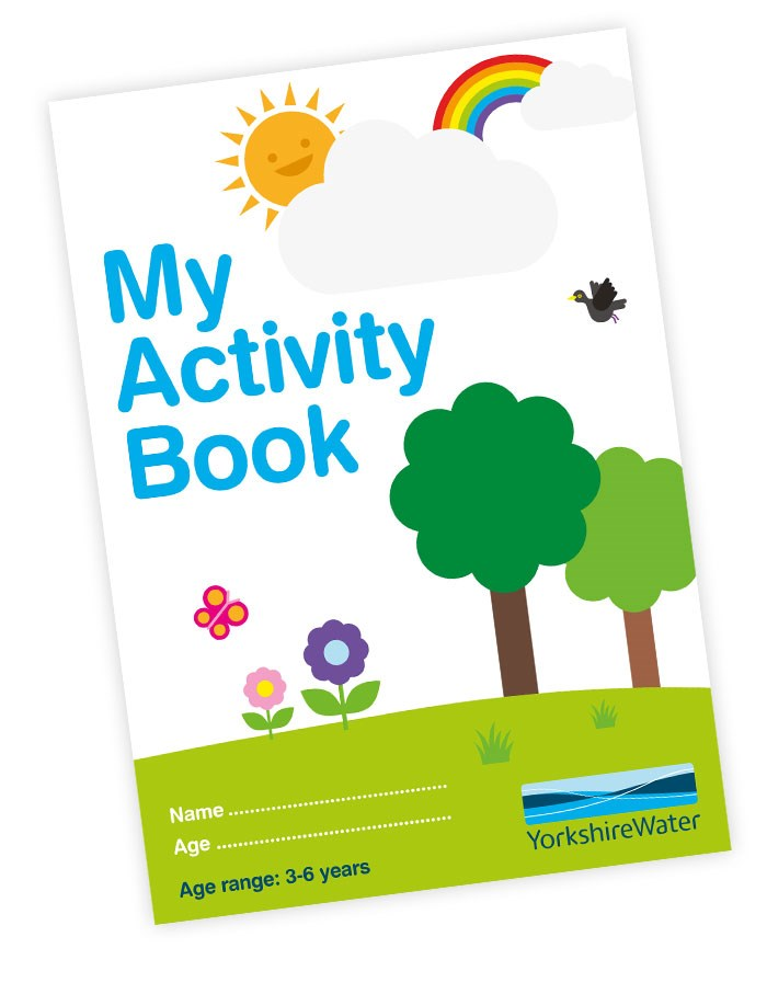 Activity book for 3-6 years